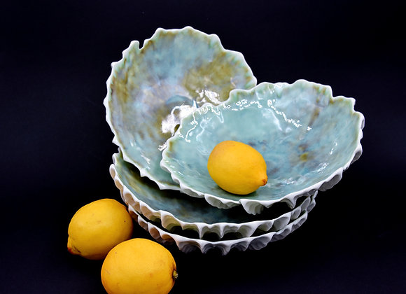 Large Pinched Entree Bowl