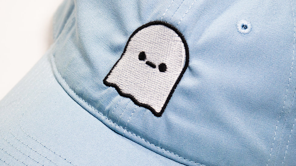 CHILL Ghost Dad Hat