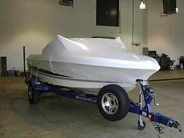 Store boat winterization