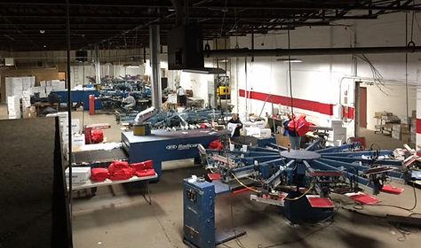 Automatic Presses, Production Floor