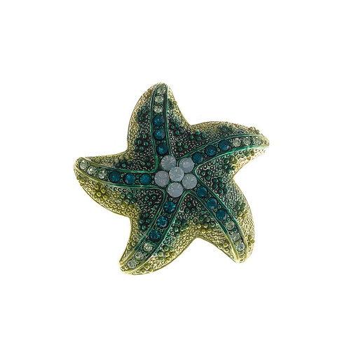 Broche cuajado Circonita modelo Estrella de Mar