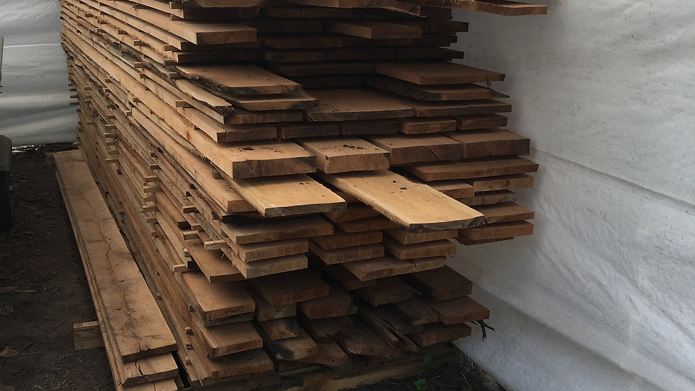 Red Oak - Rough Cut - air dried