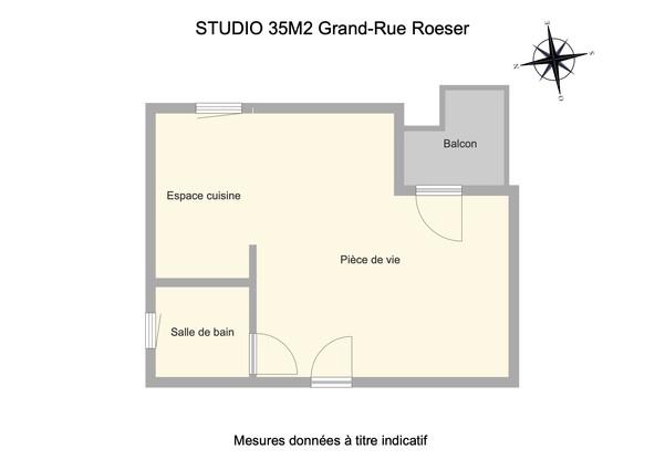 Studio Grand Rue ROESER