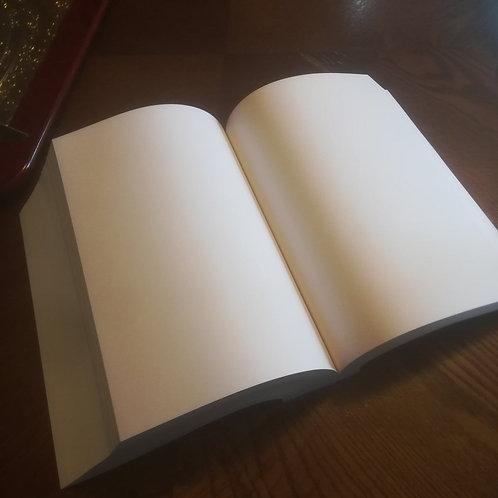 Blank Artist Notebook HQ Paper