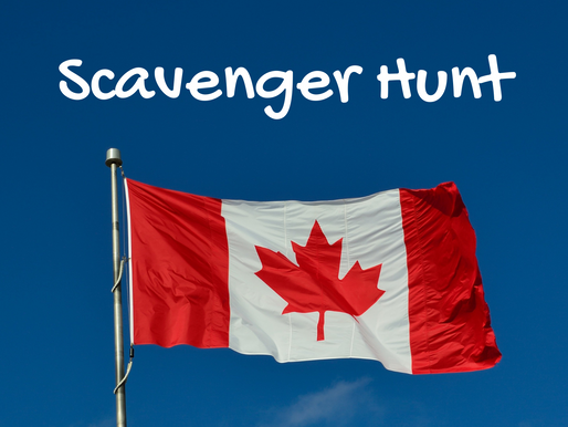 Canada Day Scavenger Hunt