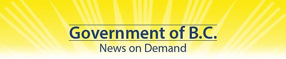 BC Government News on Demand