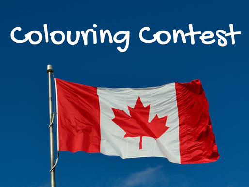 Canada Day Colouring Contest