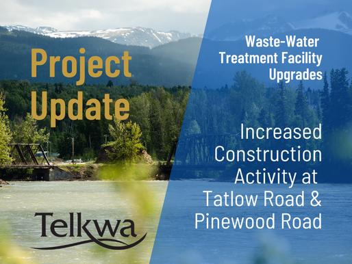 Construction Activity at Tatlow Road and Pinewood Road