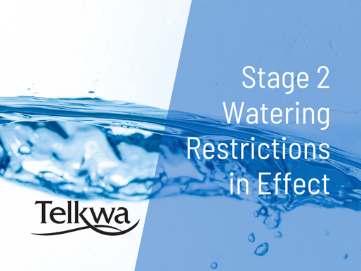Stage 2 Watering Restrictions in Effect (once a week watering)