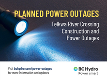 NOTICE: Telkwa River Crossing Construction and Power Outages - BC Hydro