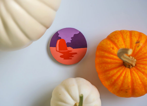 Orange Tombstone I Magnet