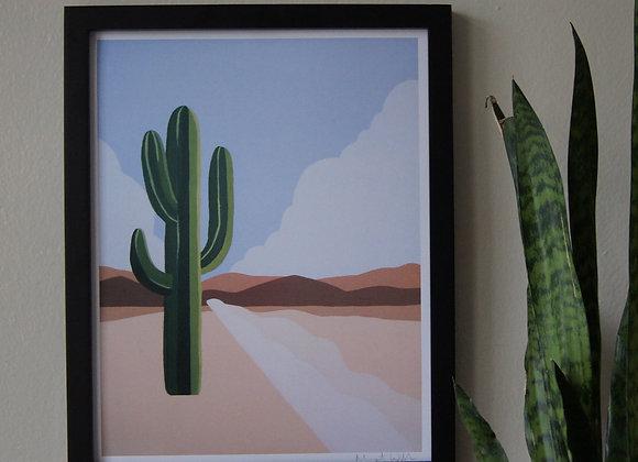 Cactus | Art Print 11x14
