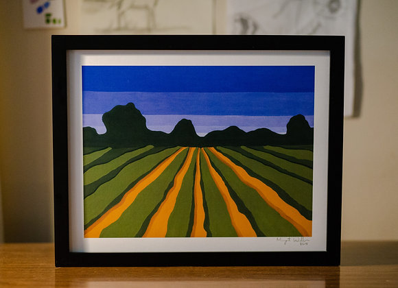 Green Fields | 11x14 Art Prints