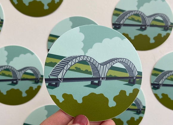 Memphis Bridge | Sticker