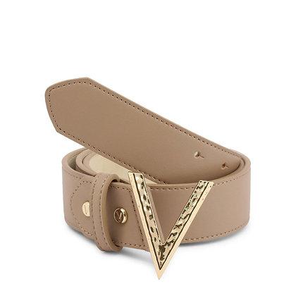Valentino By Mario Valentino Moke Belt Beige