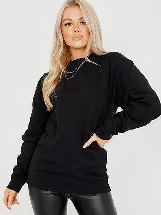 Stylewise Plain Sweatshirt Jumper