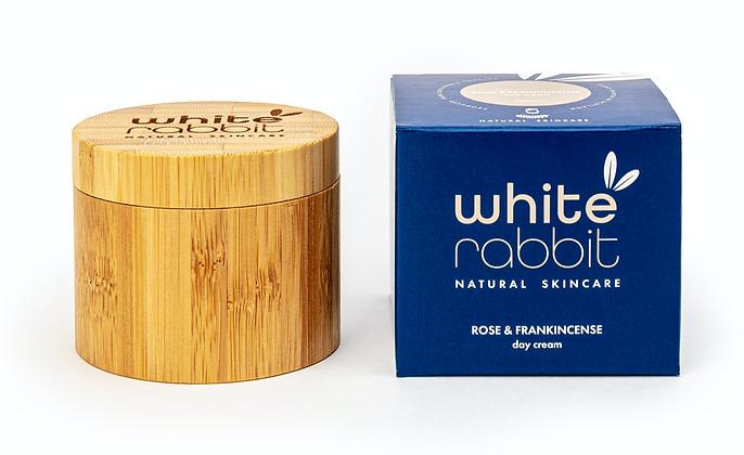 White Rabbit Rose & Frankincense Hydrating Day Cream for Mature Skin - 100ml