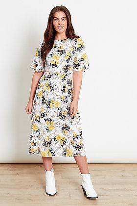Influence Floral Midi Dress
