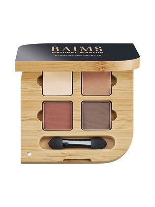 Baims Vegan Eyeshadow Quad Palette 01 Naturelle