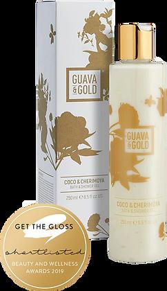 Guava & Gold Coco & Cherimoya Bath & Shower Gel
