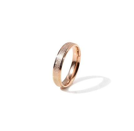 Rose Gold Matte Finish Ring