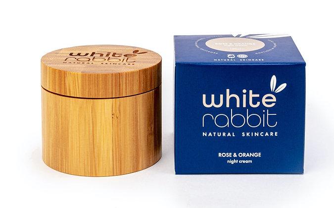 White Rabbit Rose & Orange Nourishing Night Cream - 100ml