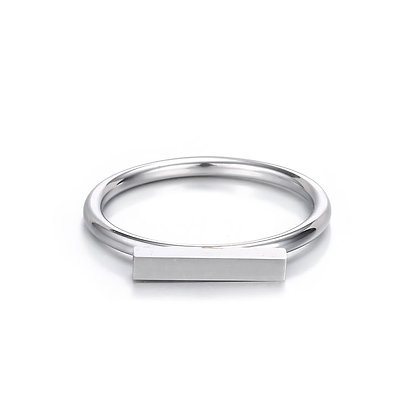 Bar Ring - Gold or Silver