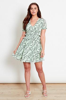 Influence Floral Skater Mini Dress
