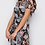 Thumbnail: Girl In Mind Farren Split Hem Frill Detail Maxi Dress Paisley Print