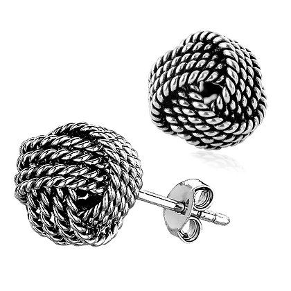 Retro Knotted Earrings