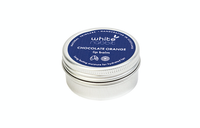 White Rabbit Chocolate Orange Vegan Lip Balm - 15ml