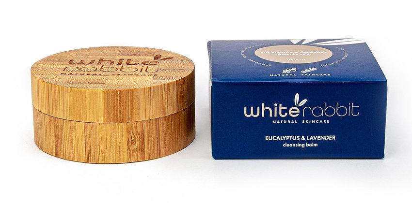 White Rabbit Eucalyptus & Lavender Vegan Cleansing Balm - 100ml