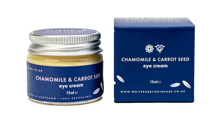 White Rabbit Chamomile & Carrot Seed Vegan Eye Cream - 15ml