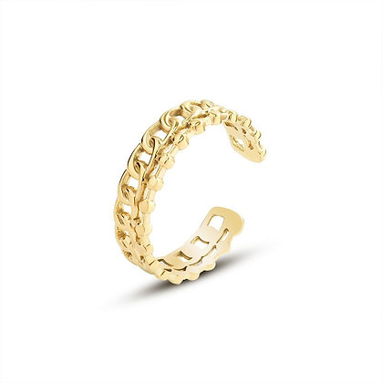 Hollow Ring - Gold or Silver