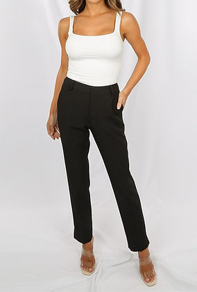 Attentif Side & Back Pocketed Tailored Trouser