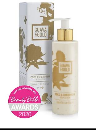 Guava & Gold Coco & Cherimoya Body Lotion