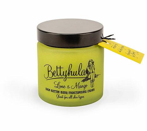 Betty Hula Shea Butter Body Moisturiser Lime & Mango - 120ml