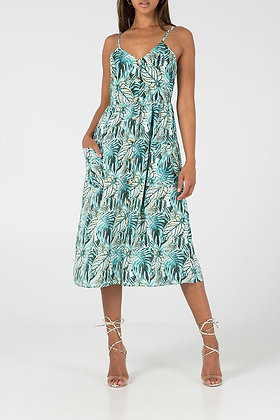 QED Button Down Cami Dress