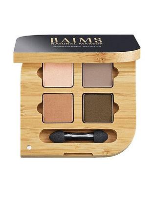 Baims Vegan Eyeshadow Quad Palette 02 Mother Earth