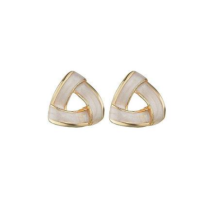 Retro Triangle Earrings