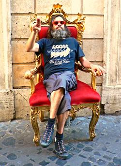 Jezus throne