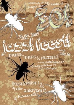 jazzscheld'apenposter