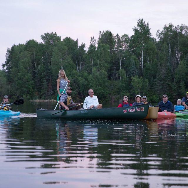 Paddle on Carey Lake in Hibbing