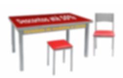 Mesas e cadeiras para cozinha