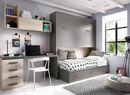 Cama abatível c/ cama Nido H 418