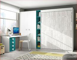 Cama abatível vertical F 420 p/ colchão de 190x135
