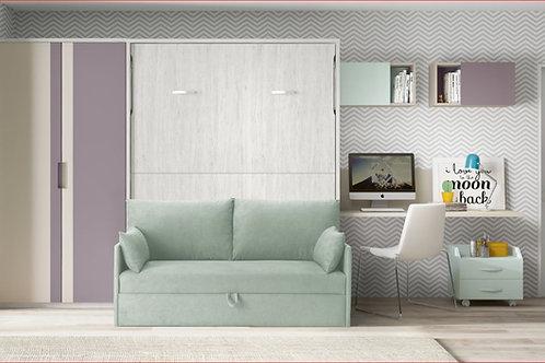Cama abatível com sofá F 423