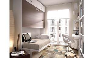 Camas abatíveis tipo Murphy Bed ou Wall Bed