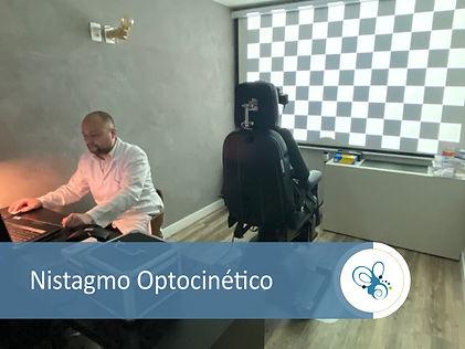 pesquisa do nistagmo optocinético