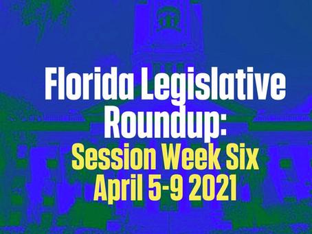 FL Legislative Roundup: Session Week 6 - 4/5-9/2021